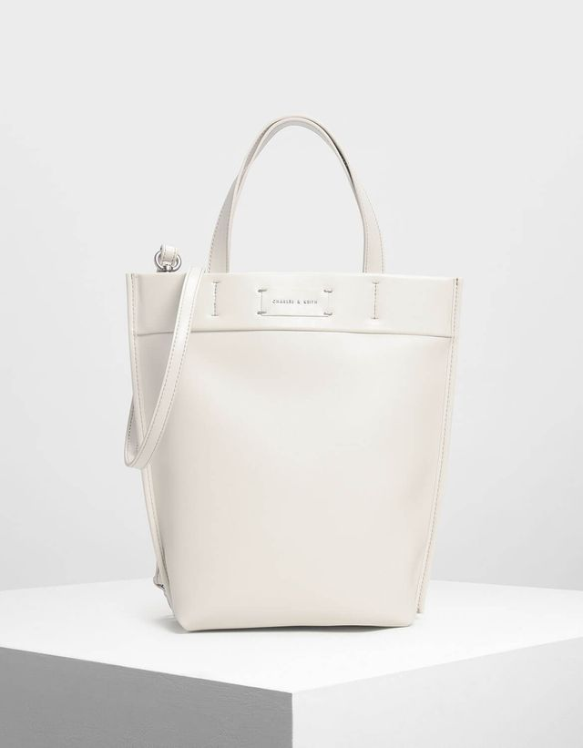 Charles & Keith Classic Structured Tote Bag