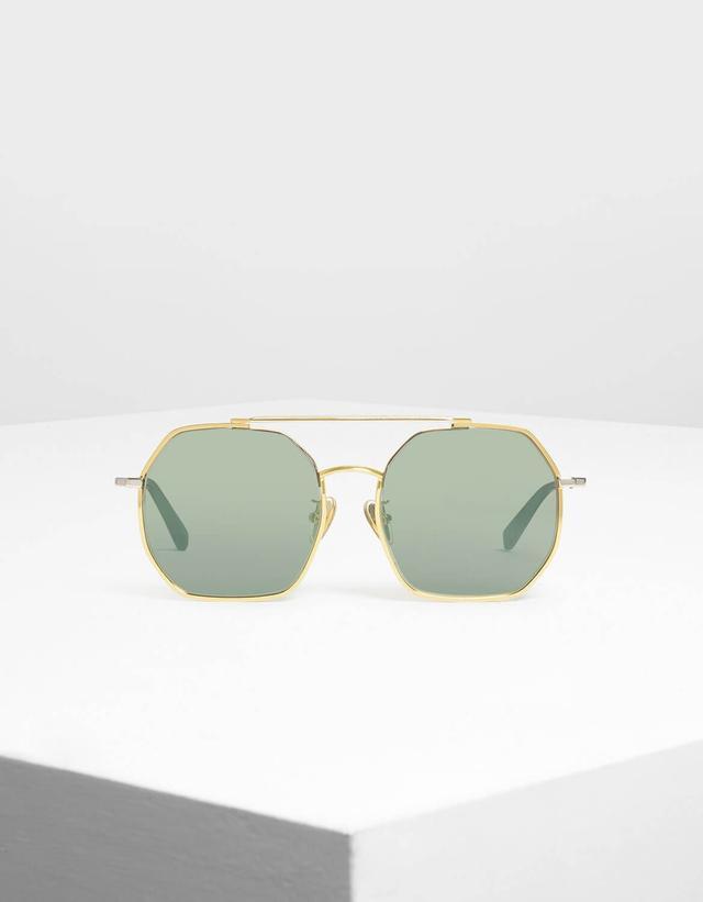 Charles & Keith Geometrical Frame Sunglasses