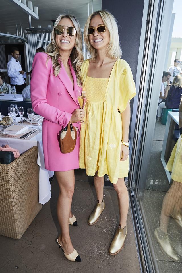 <p><em>Pictured: Remi Gabriella and Nadia Fairfax</em></p>