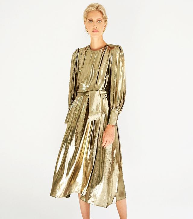 Les Coyotes de Paris Drake Dress Gold