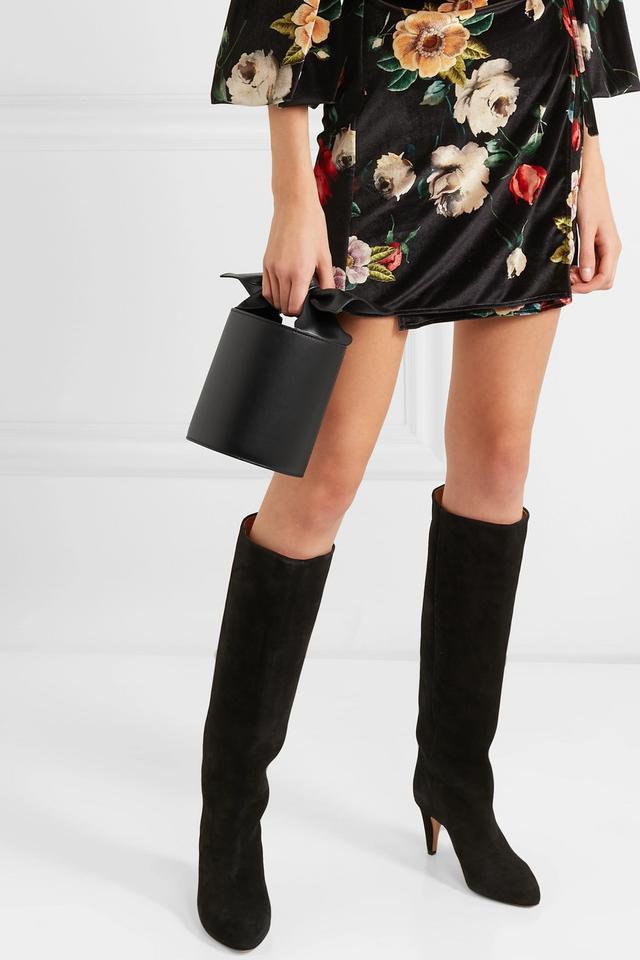Sophie Mini Leather Bucket Bag