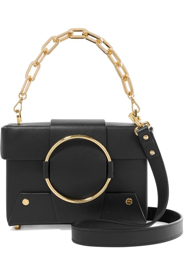 Asher Small Leather Shoulder Bag
