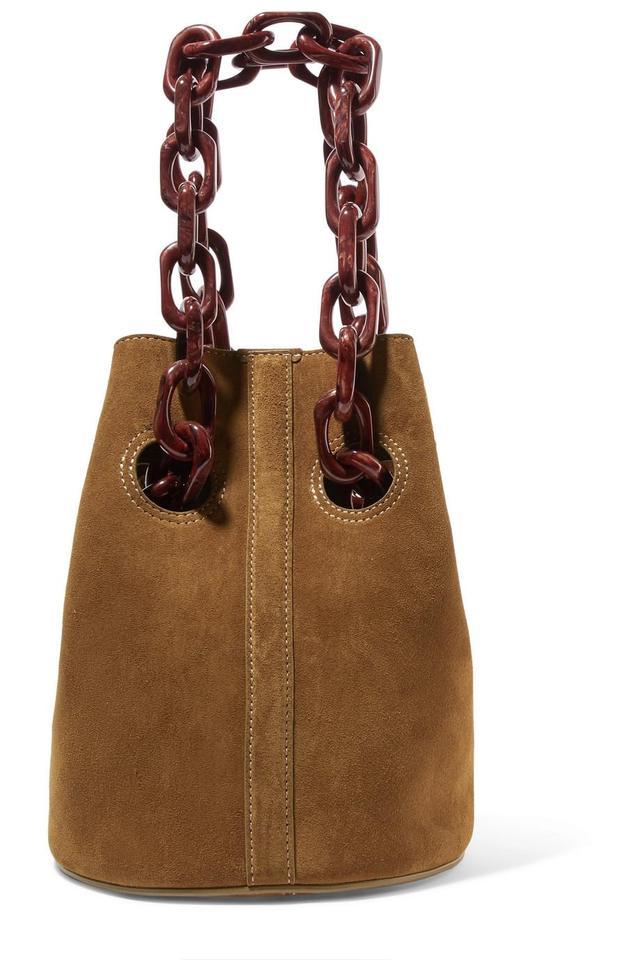 Goodall Suede Bucket Bag