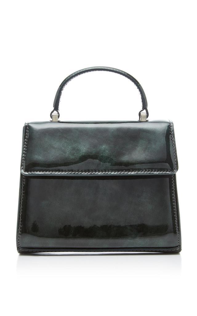 Marlow Patent-Leather Shoulder Bag