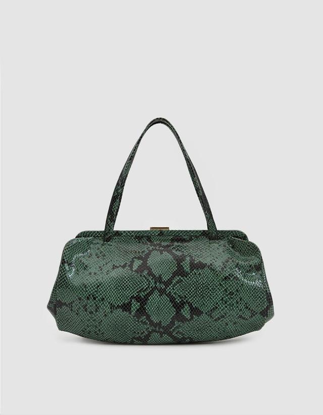 Yvette Snakeskin Handbag