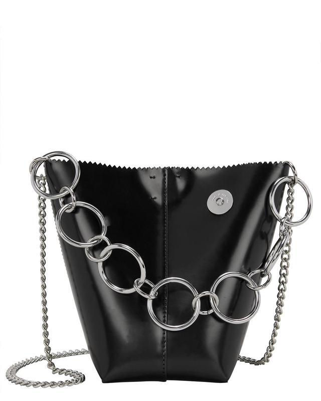 Kara Pico Pail Leather Black Bag Black 1Size