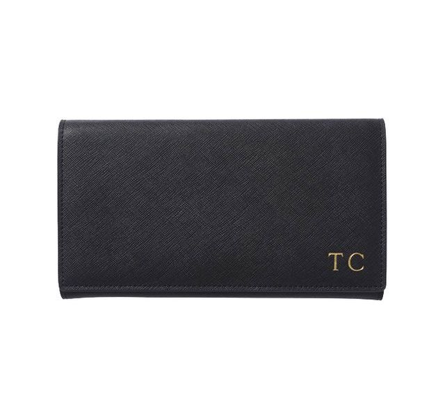 The Daily Edited Black Wallet
