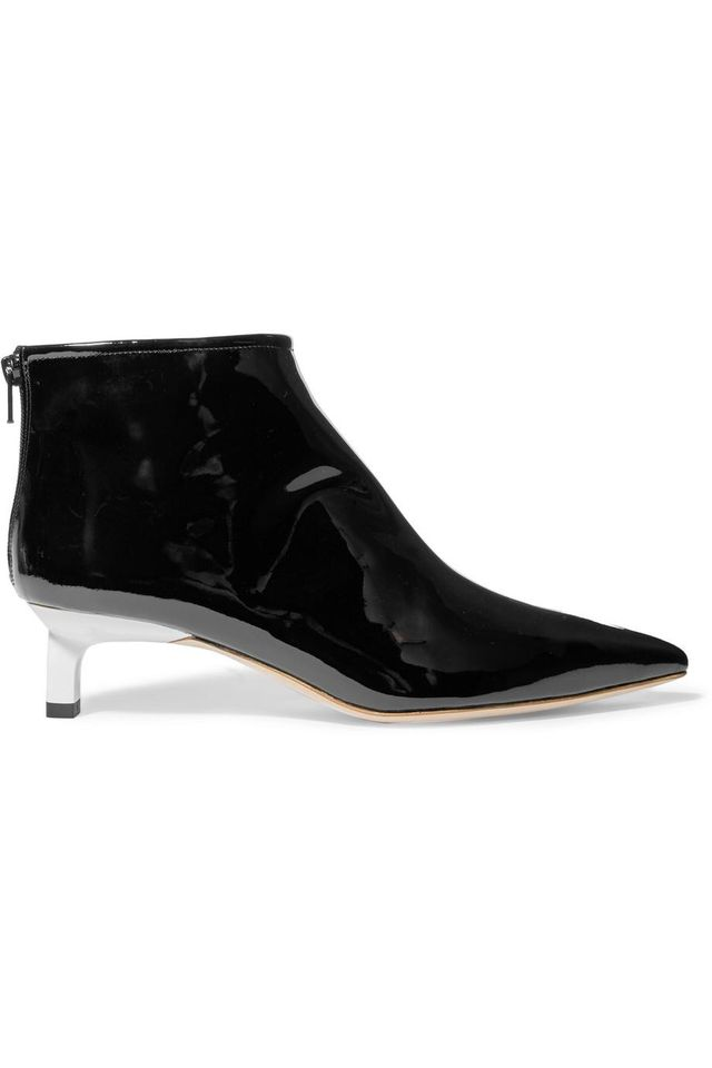 Marta Patent-leather Ankle Boots