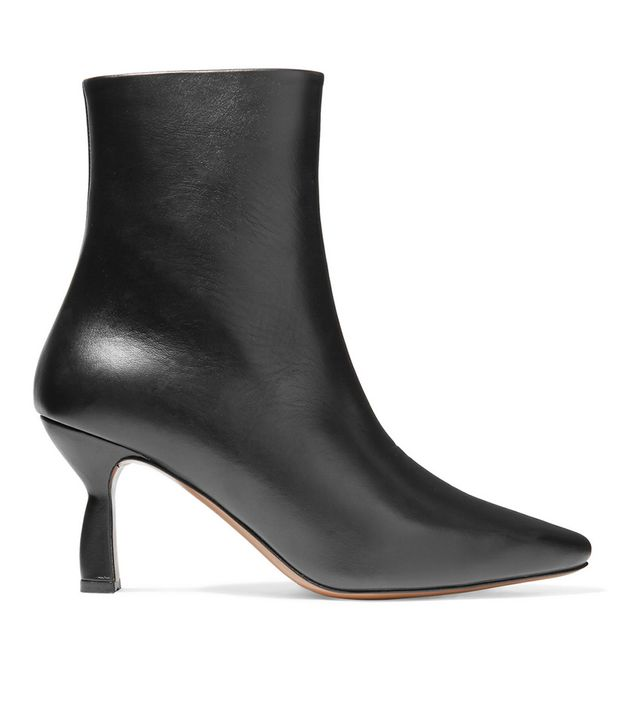 Sieve Leather Ankle Boots