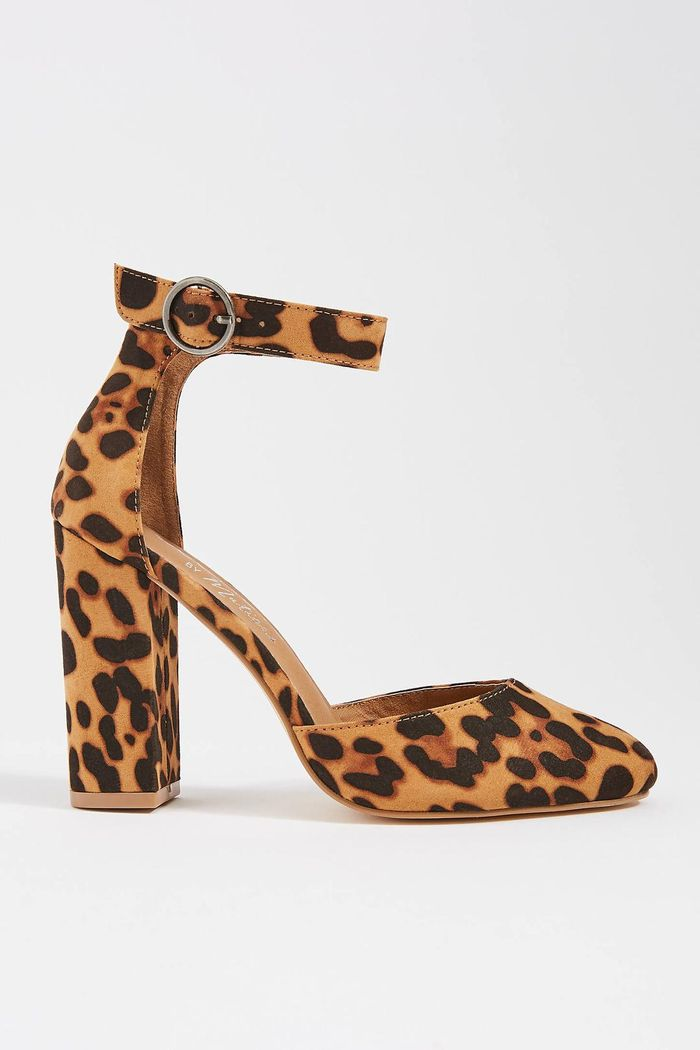 These Leopard Print Heels Will Go With Everything You Own
