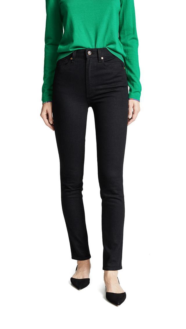 Vanessa High Rise Straight Jeans