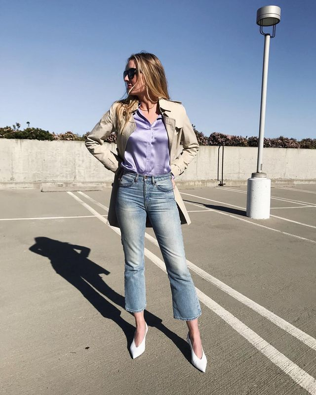 Investment pieces with a low cost per wear: trench coat