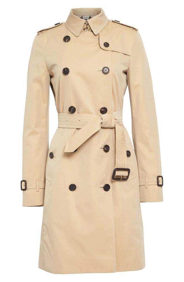 Kensington Long Trench Coat