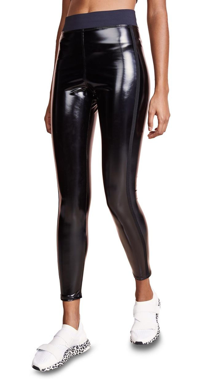 568e3ff196000 These Chic Pleather Leggings are Next-Level | Who What Wear