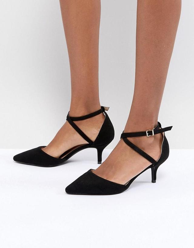 RAID LYLA Kitten Heel Court Shoe