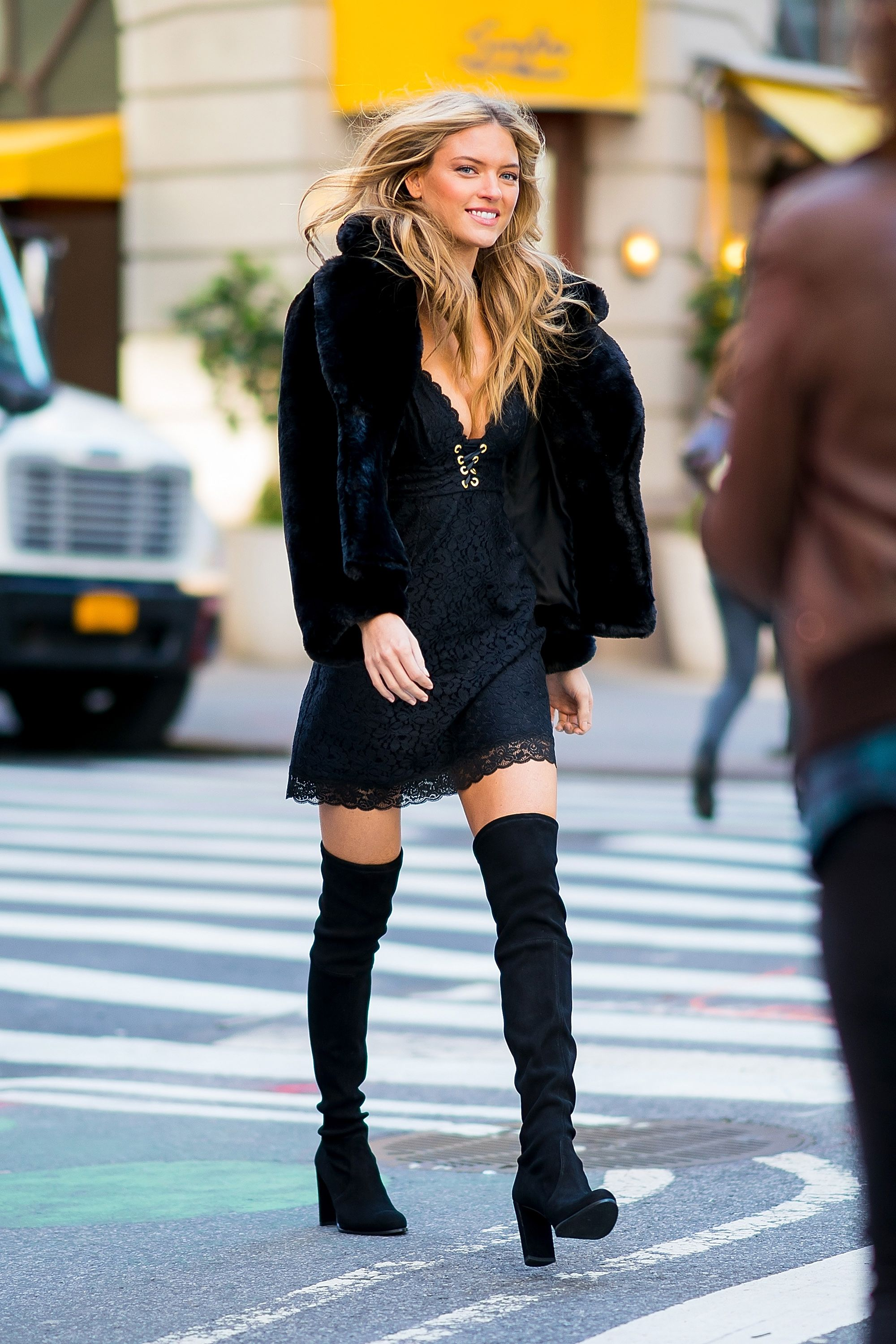 1a4ae1c3c The One Boot Trend Every Model Wore to the VS Fashion Show Fittings    WhoWhatWear.com   Bloglovin'
