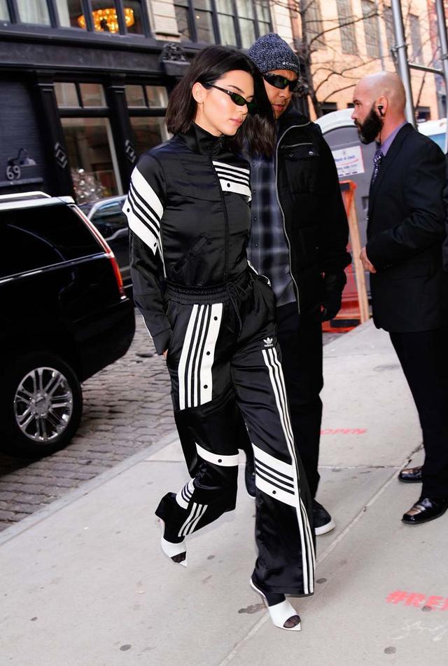 Kendall Jenner Wearing White Heels
