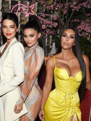 The Kardashian-Jenners Wore the Skimpiest Lingerie Halloween Costumes