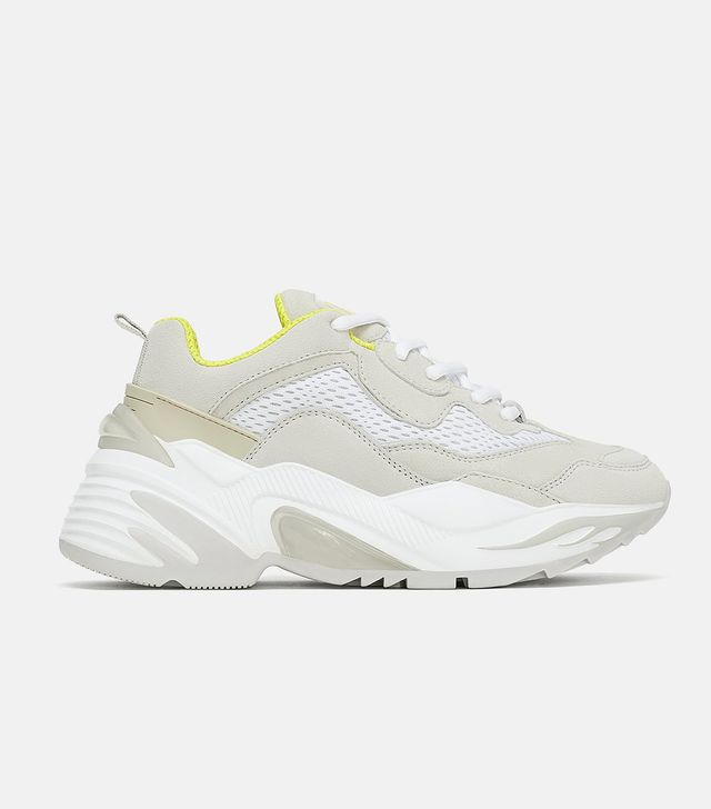 Zara Thick Soled Sneakers