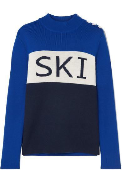 Flaine Embroidered Down Ski Jacket
