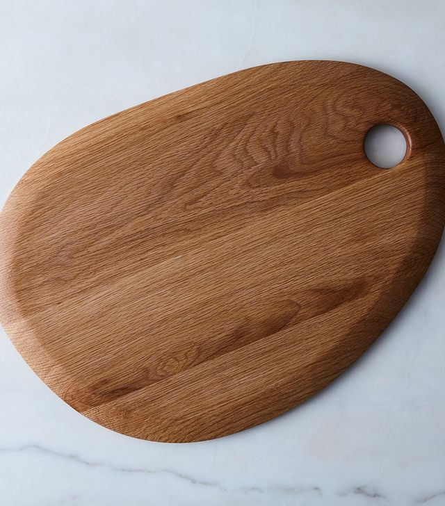 Hawkins New York Simple Round Wood Cutting Board
