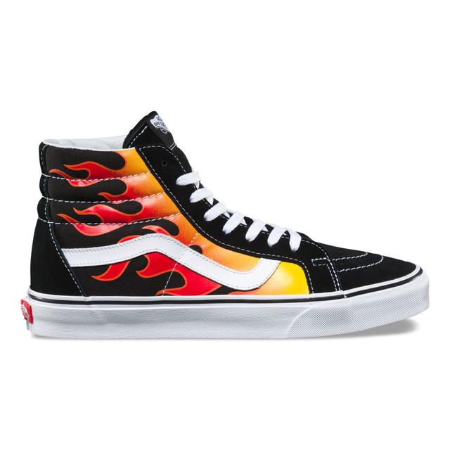 Vans Flame Sk8-Hi Reissue