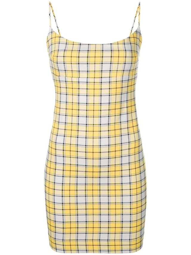 short check fitted dress