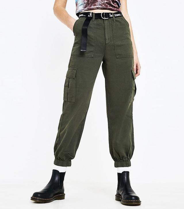 Urban Outfitters Khaki Cargo Trousers