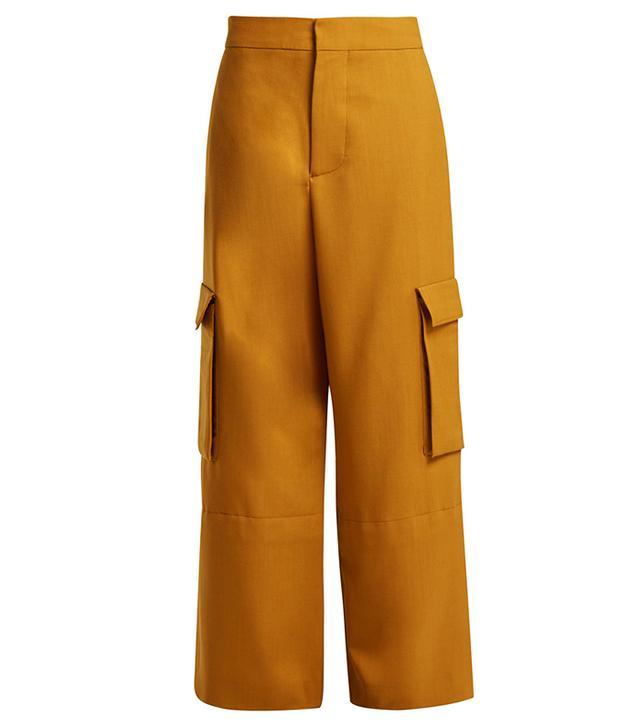 Marni High-Rise Cargo Trousers