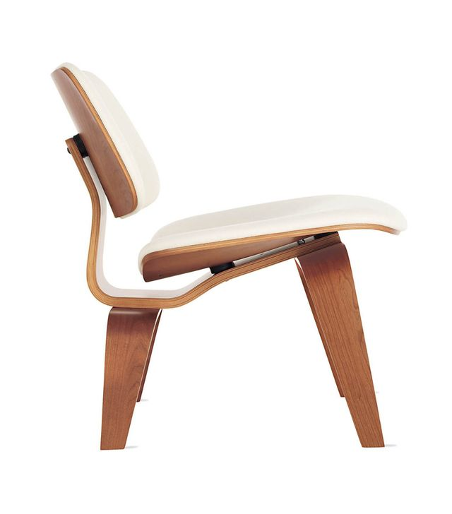 Eames Upholstered Molded Plywood Lounge Chair