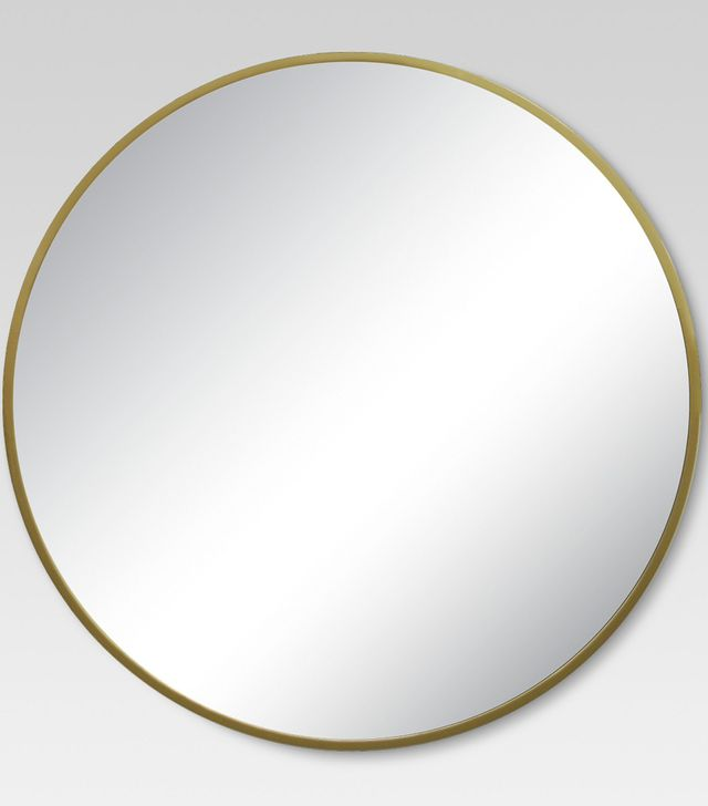 Project62 Round Decorative Wall Mirror Brass