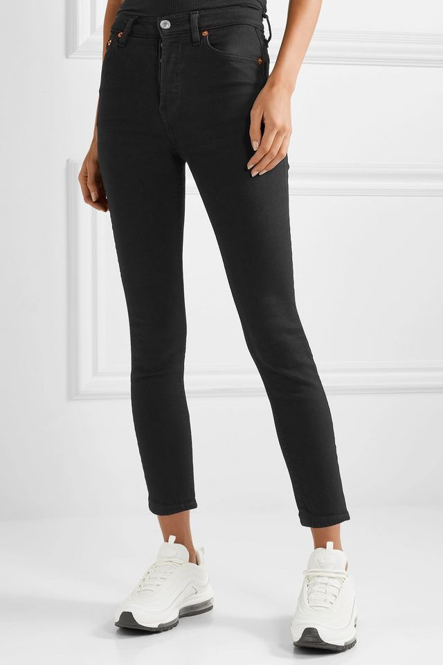 Originals Ultra Stretch High-rise Ankle Crop Skinny Jeans
