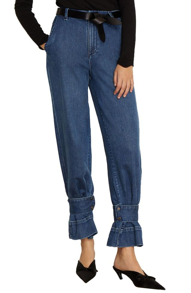 Veda High Waist Convertible Jeans