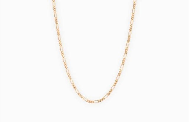 affordable trendy flat chain necklaces