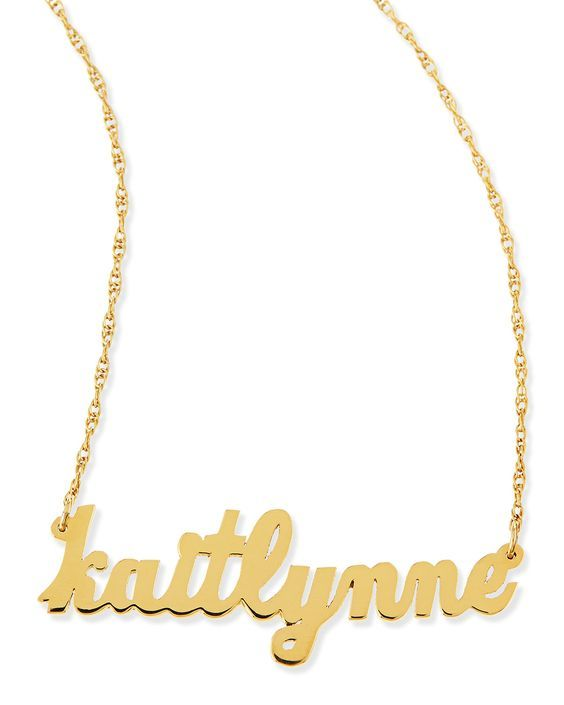 personalized initial necklaces under $200