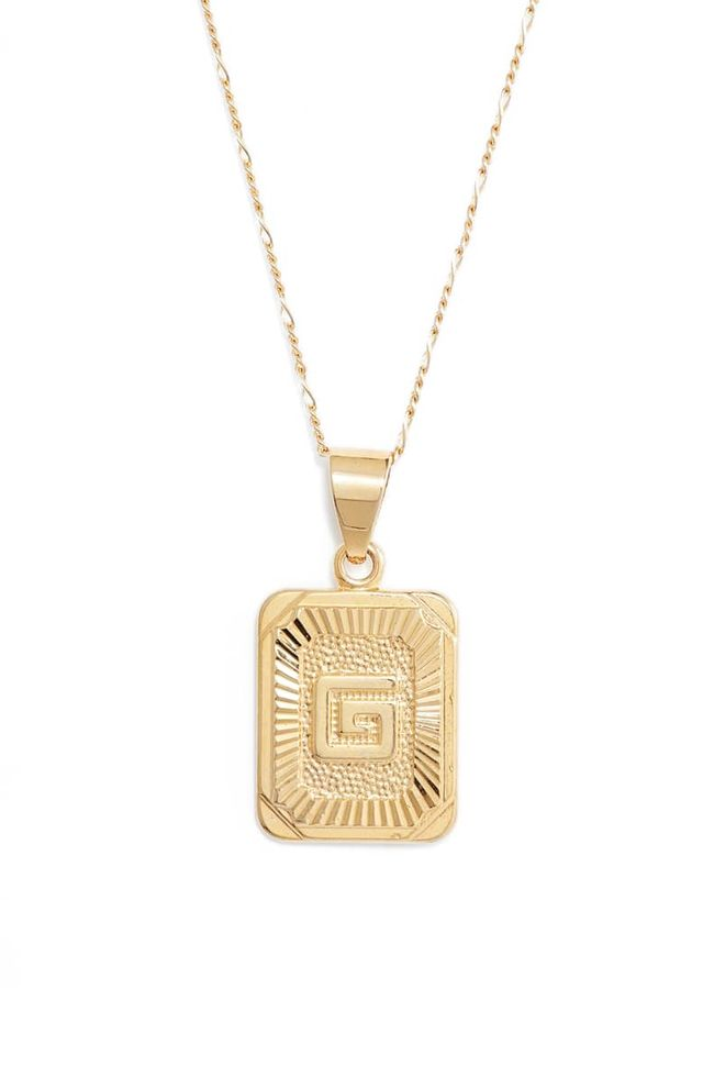 rectangle initial necklaces under $200