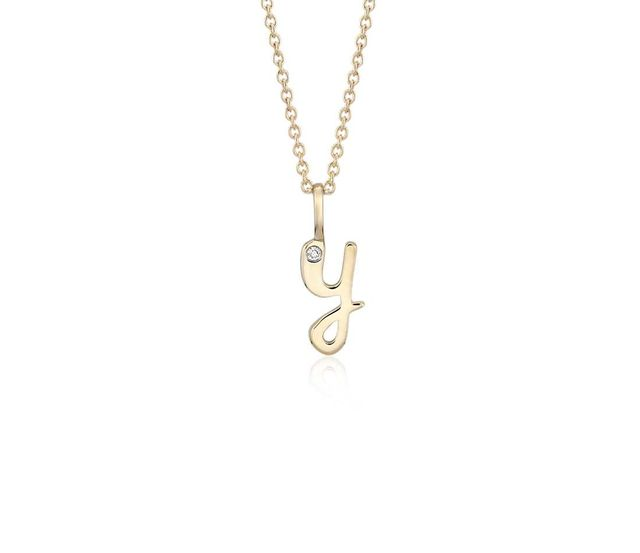initial necklaces under $200 with diamond pendants