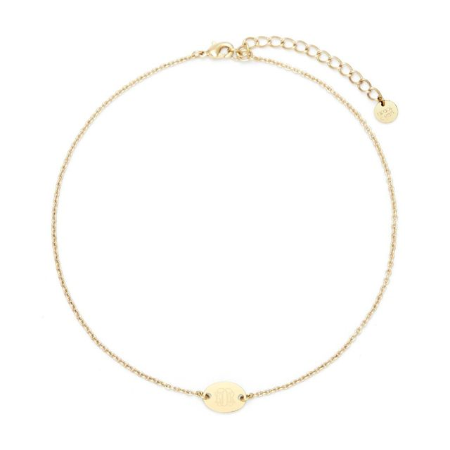 choker initial necklaces under $200