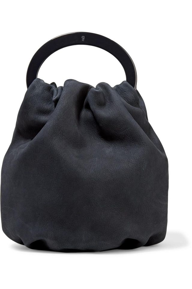 Posy Croc-effect Leather-trimmed Pvc And Nubuck Tote