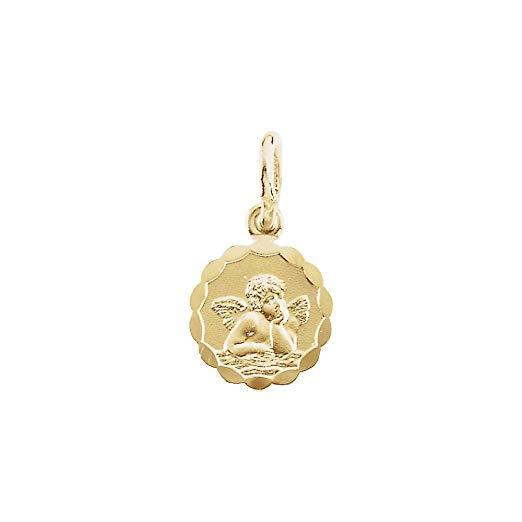 14ct Yellow Gold Angel Pendant