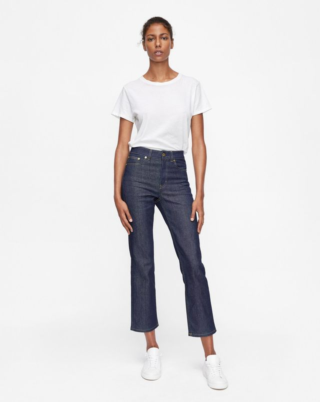 Filippa K Stella Raw Jeans in Dark Blue