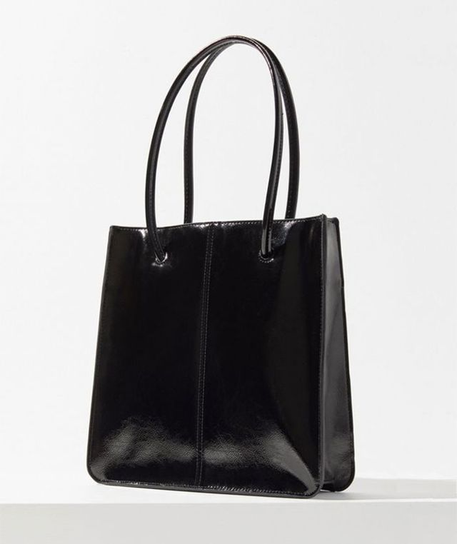 Patent Lady Tote Bag