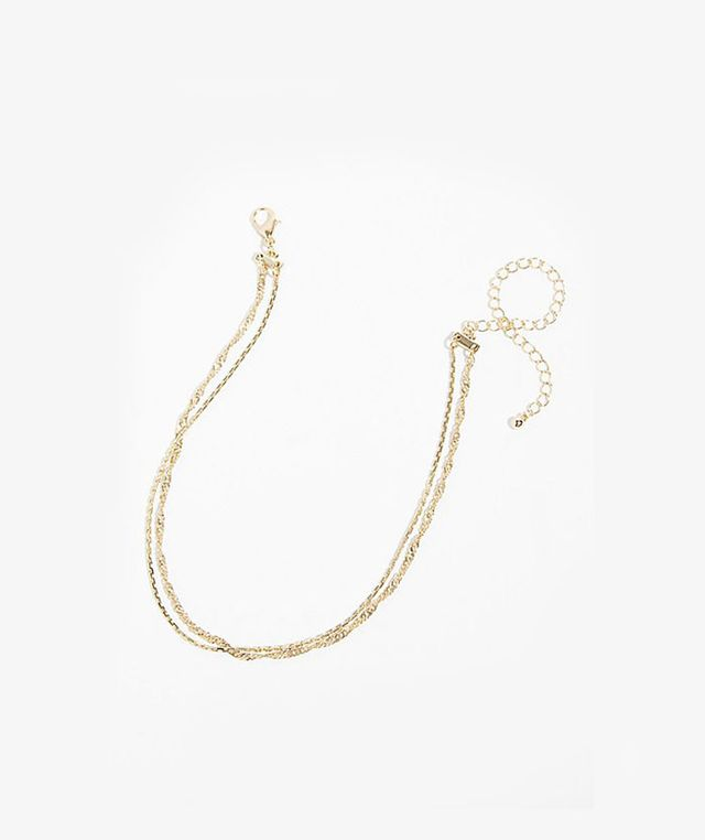 Free People Double Chain Necklace