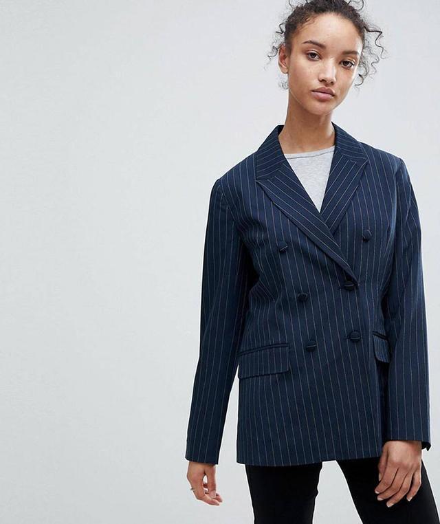 Pin Stripe Blazer
