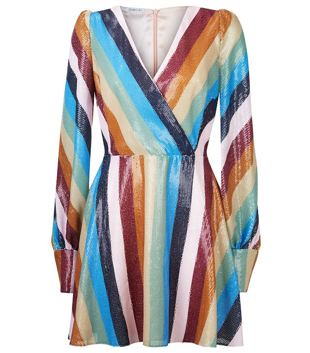 Olivia Rubin Kylie Sequin Mini Dress