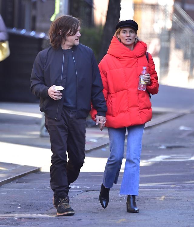 Diane Kruger and Boyfriend Norman Reedus