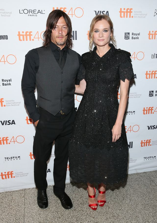 Diane Kruger and Norman Reedus Couple Outfits