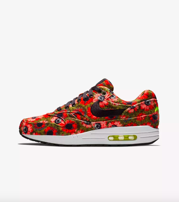 Nike Air Max 1 Premium Sneakers in Solar Daisy