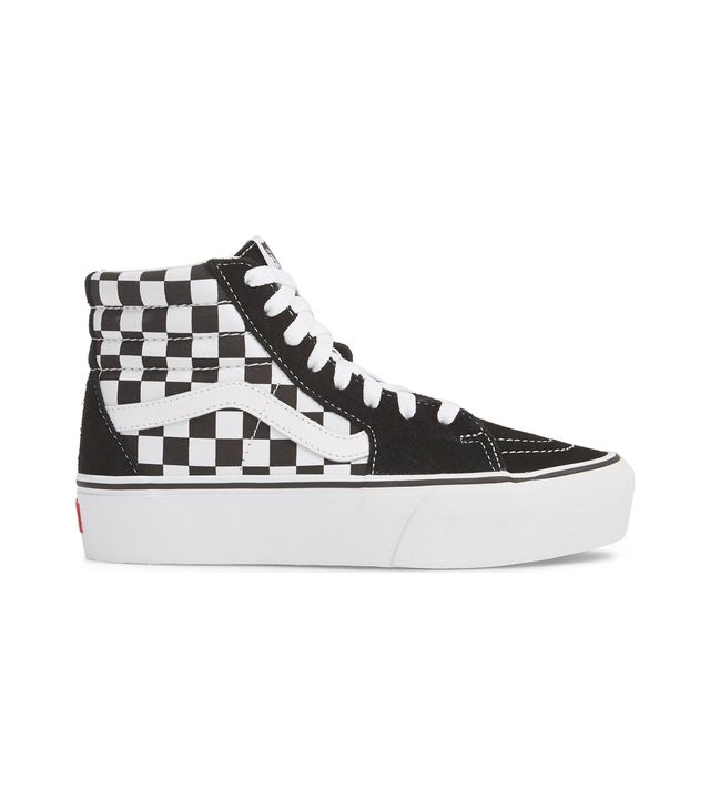 Ua Sk8-Hi Platform Checkerboard Sneaker