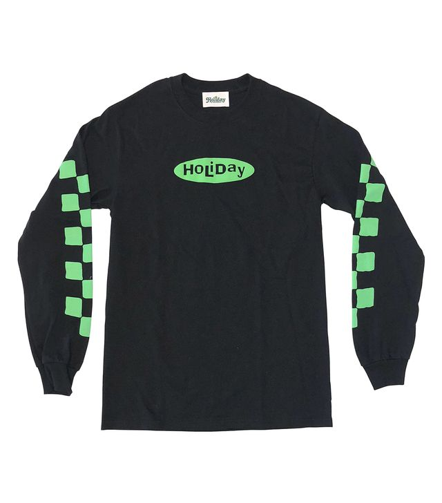 Holiday the Label Whatever Long Sleeve Tee
